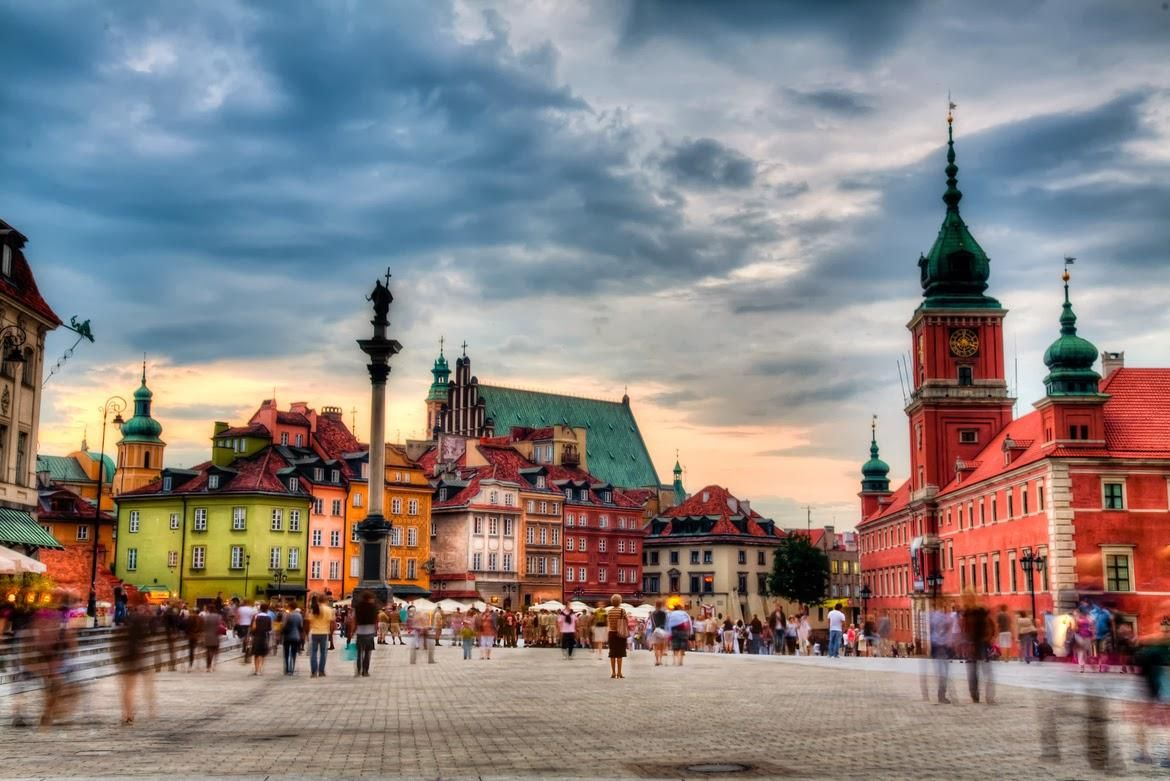 WARSAW IN JULY