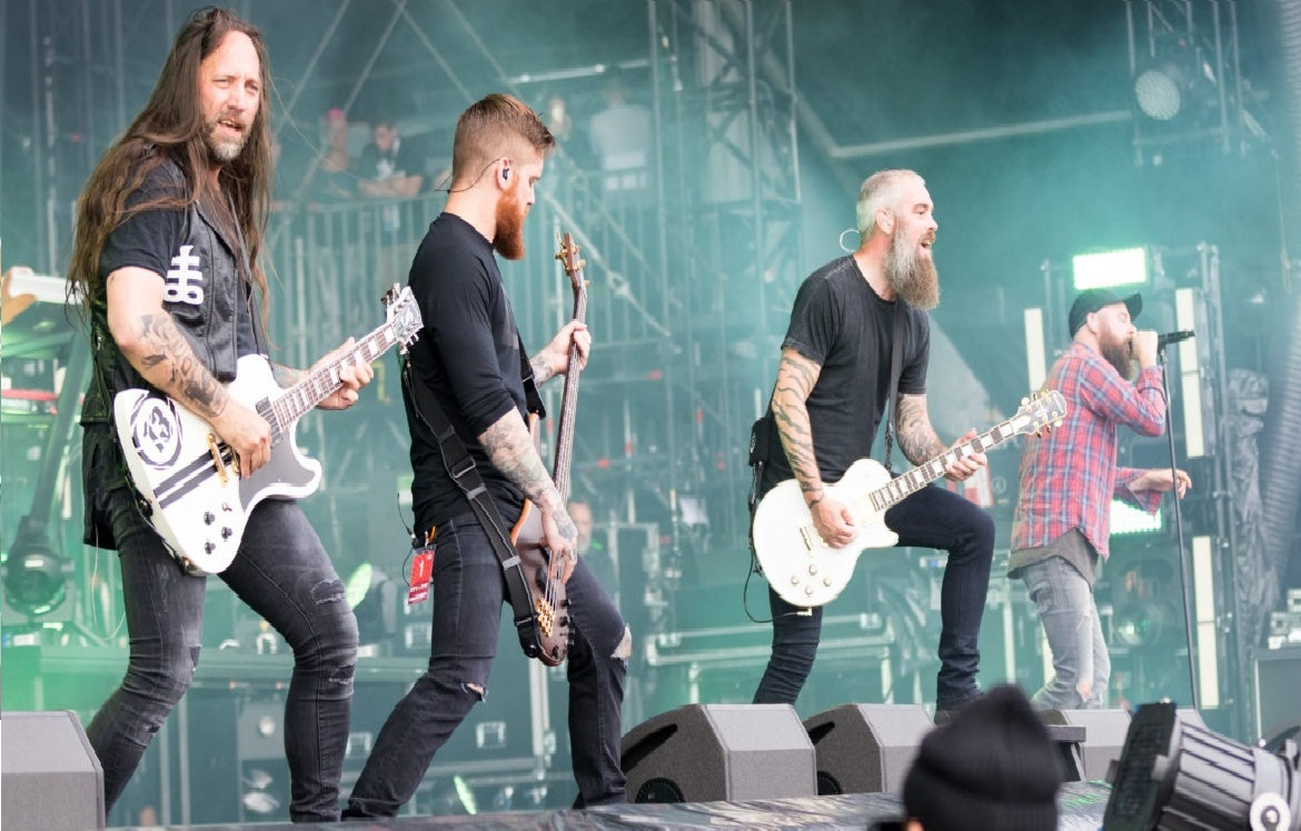 IN FLAMES CONCERT IN HAMBURG 2019