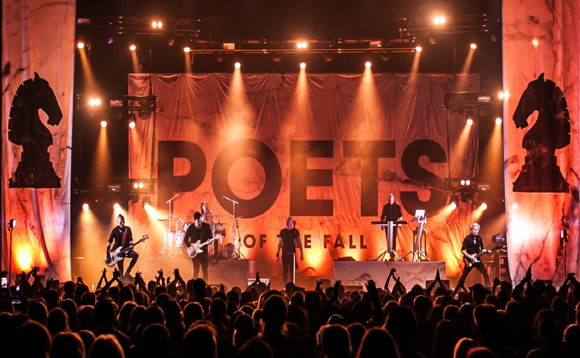 POETS OF THE FALL IN BARCELONA 2019